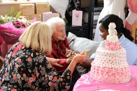 Louie toasts 108th birthday with friends at Duchess