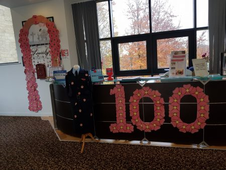 Poppy display commemorates World War One heroes at Duchess Gardens