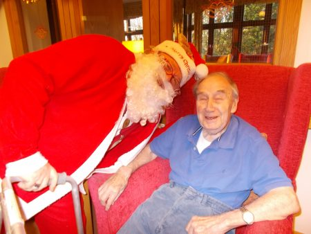 Residents at St Mary's have well and truly stepped into Christmas