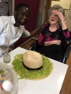 Easter comes early for Millfield Care Home