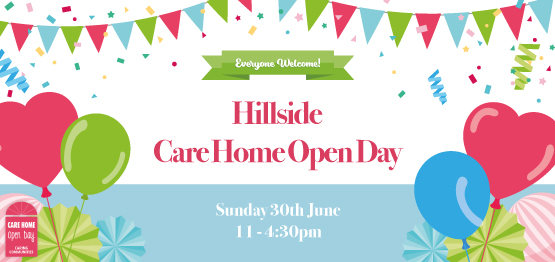 Celebrate Care Home Open Day at Hillside