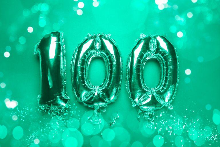 Rita turns 100 at Gilwood Lodge